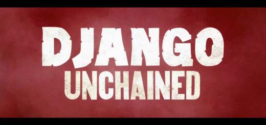 Django Unchained trailer title