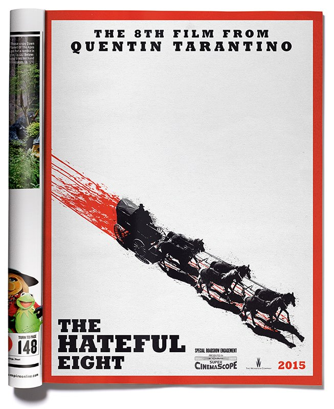 The Hateful Eight official artwork