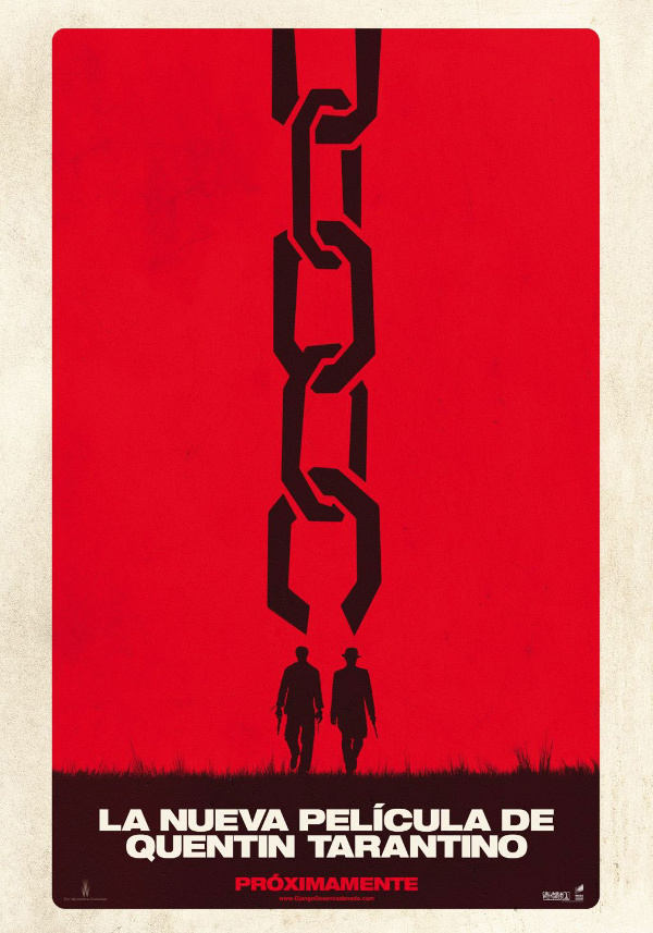 Django Unchained poster spain Django Desencadenao