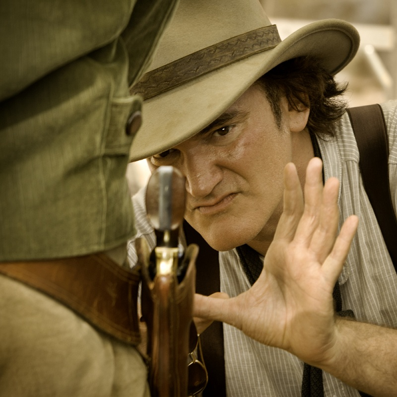 Tarantino directing Django