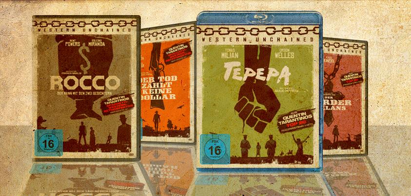 Koch Media Western Unchained DVD BluRay Tarantino