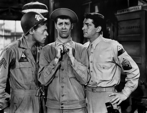 Jerry Lewis in At War with the Army
