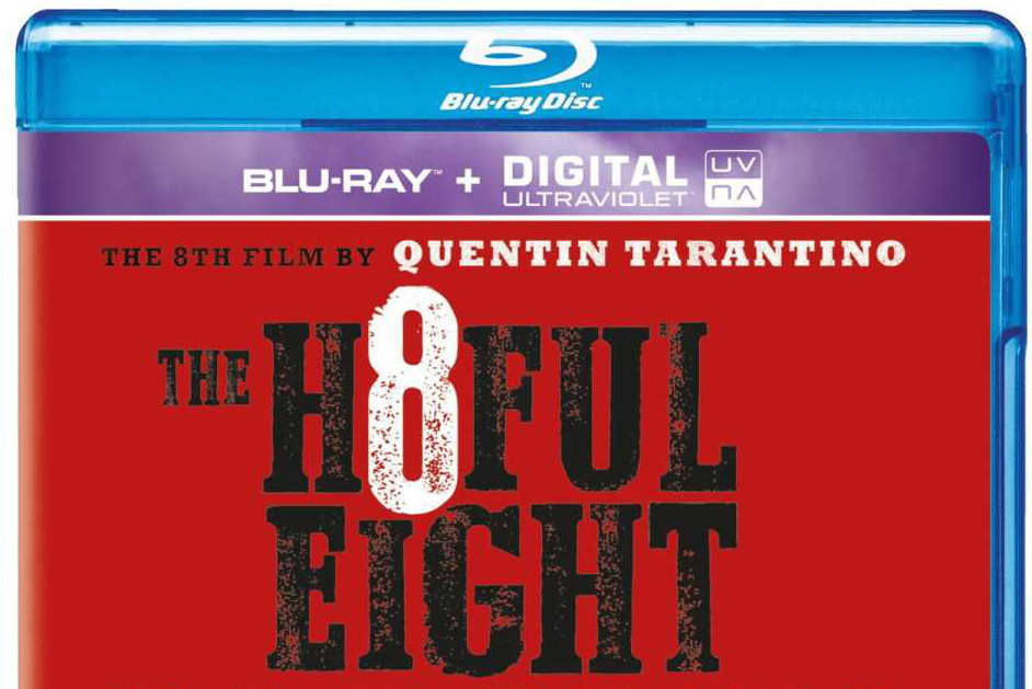 Hateful Eight BluRay